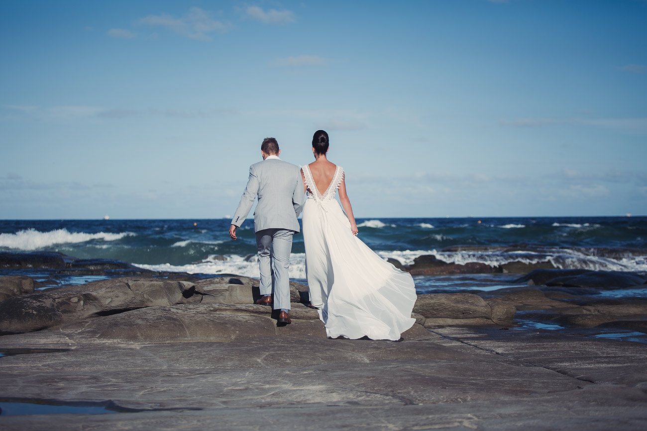 gold coast beach wedding photography & videography