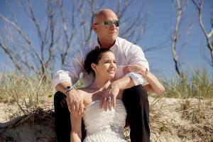 gold coast wedding portrait