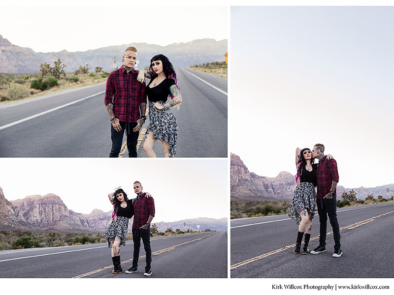 Las Vegas Engagement Shoot Kirk Willcox Photography
