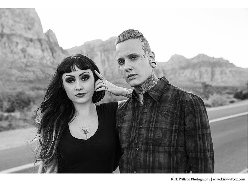 Engagement session in Las Vegas, Nevada