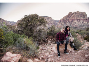 Engagement session in Las Vegas, Nevada