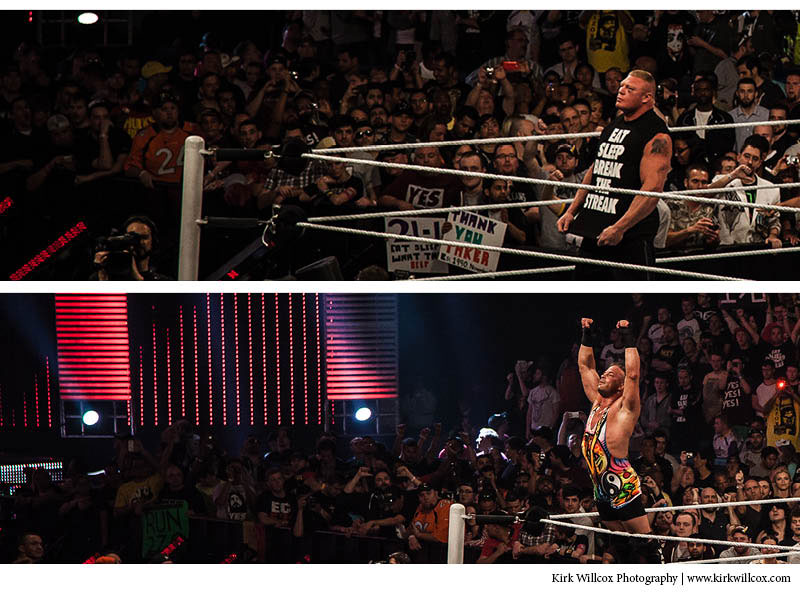 Brock Lesnar and RVD