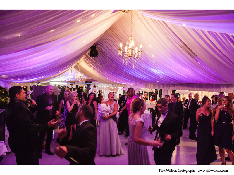 wedding dance floor image at Coolibah Downs
