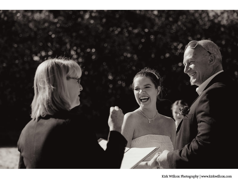 photographing Gold Coast bride and groom ceremony
