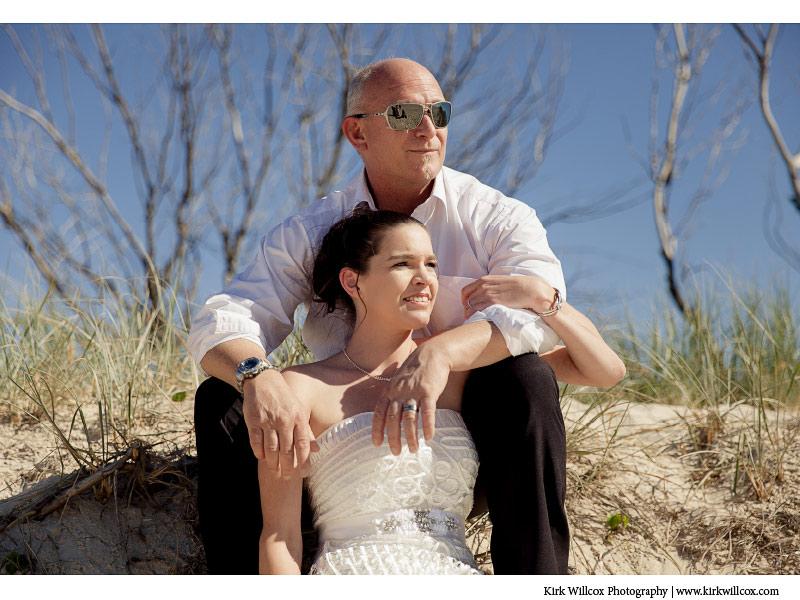 Gold Coast bride and groom wedding photography