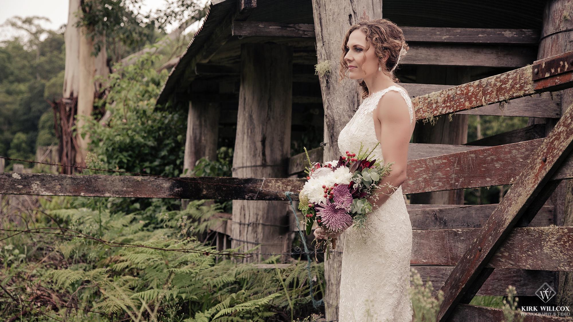 bride portrait gold coast wedding photography