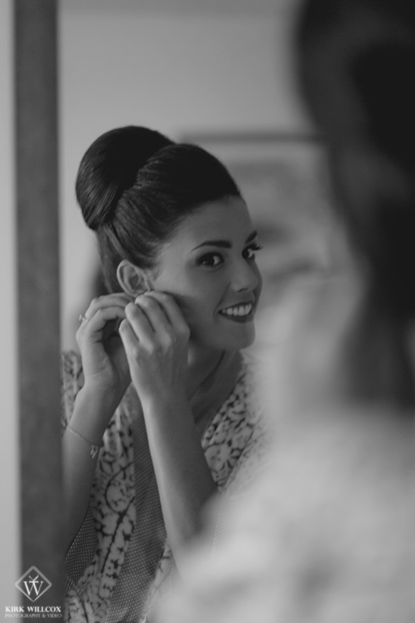 wedding day bridal preparation