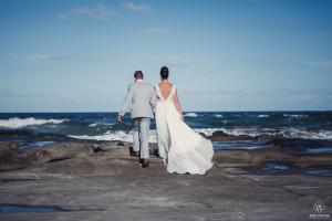 beach wedding blog photography