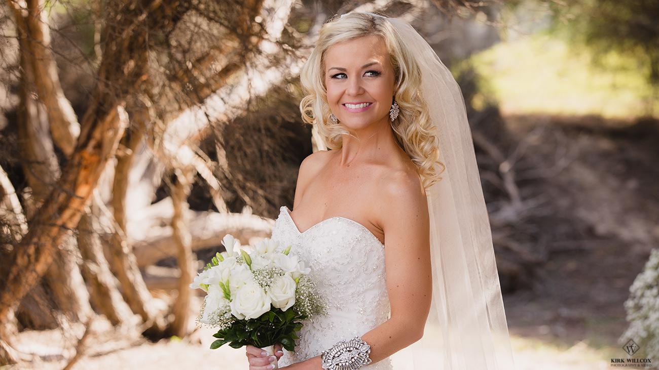 qld bride on her wedding day