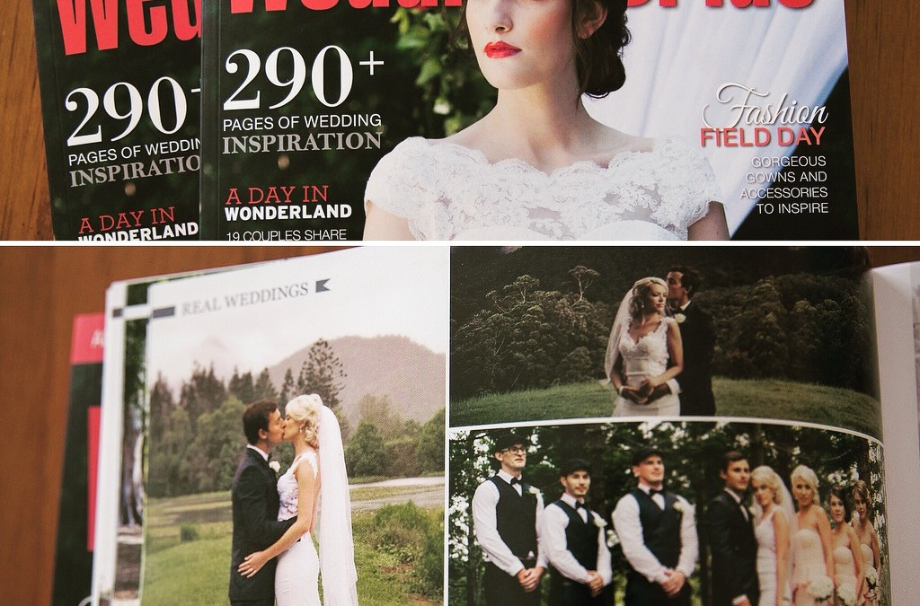 QUEENSLAND WEDDING & BRIDE magazine feature