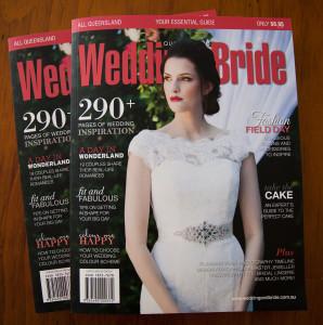 wedding magazine editorial