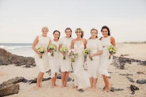 bride and bridesmaids gold coast