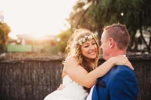 Gold Coast portrait on wedding day