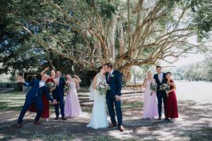 bridal party photo