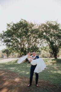 bride and groom wedding day photos