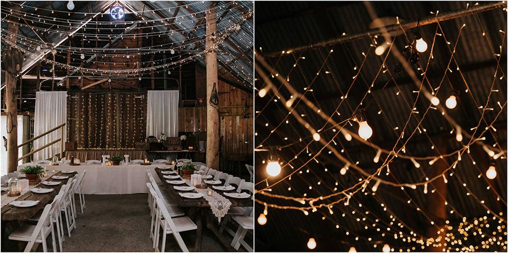 wedding reception boomerang farm