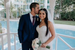 gold coast wedding at sheraton