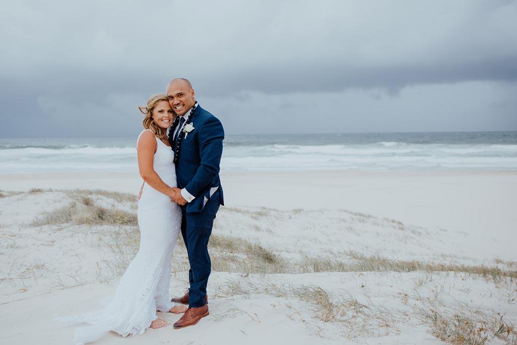 beach wedding gold coast